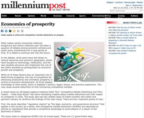 Economics of prosperity