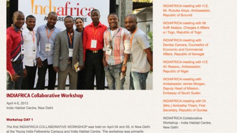 IndiAfrica Collaborative Workshop