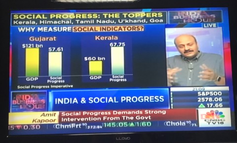 Release of Social Progress Index of States