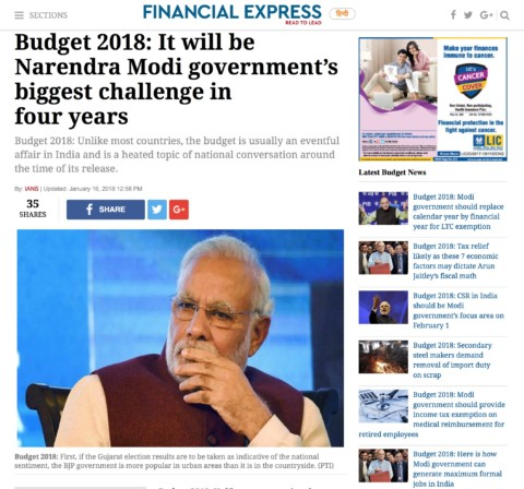 Budget 2018 will be Modi govt's biggest challenge in 4 years. Here's why
